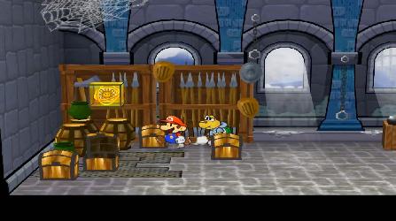 Paper Mario et la Porte Millénaire (Test Game Cube) Soleil10