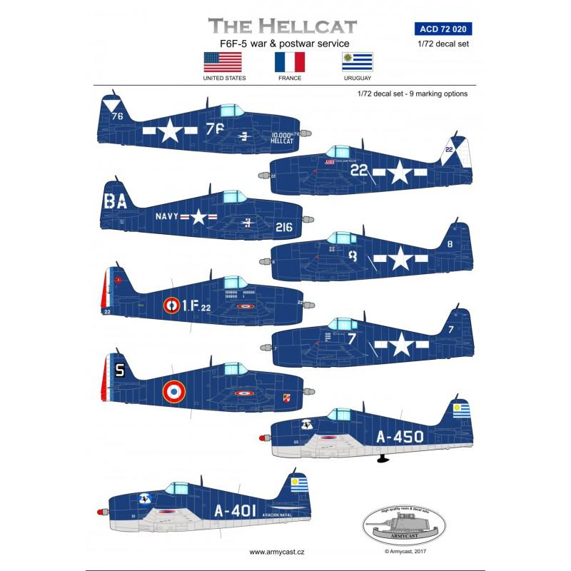 The Hellcat - F6F-5 war & postwar service 315-th10
