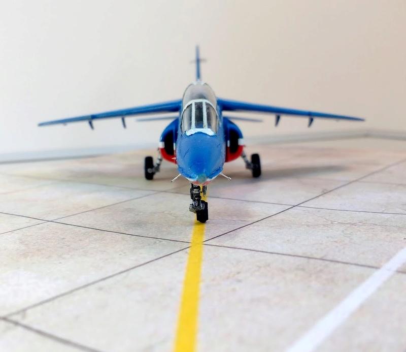 Alpha Jet Patrouille de France - Tournée US 2017 [Heller 1/72 + decals FFSMC] Img_2094