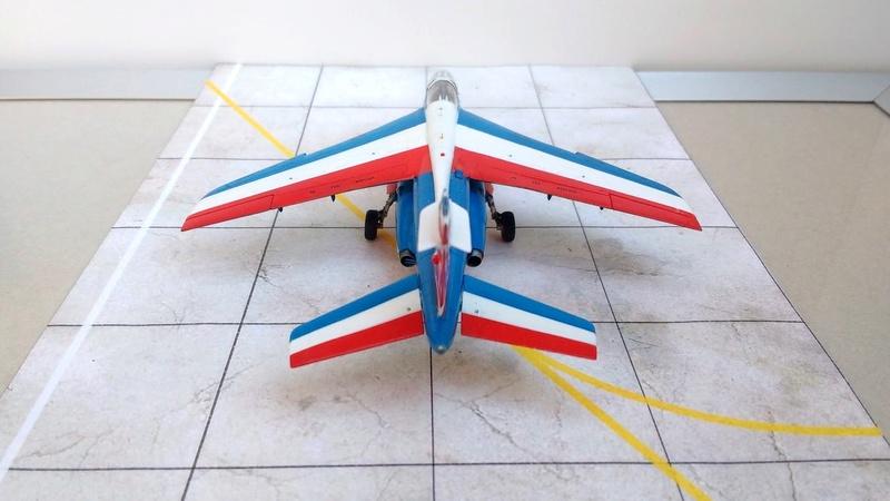 Alpha Jet Patrouille de France - Tournée US 2017 [Heller 1/72 + decals FFSMC] Img_2099