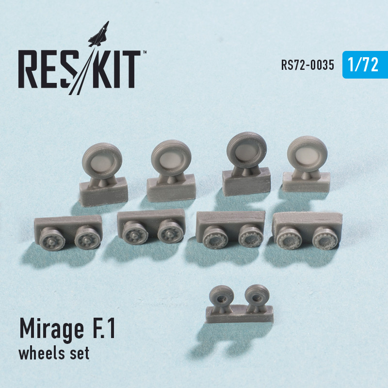 Mirage F1B [Special Hobby 1/72 + Berna + Res-Kit] Rs72-010