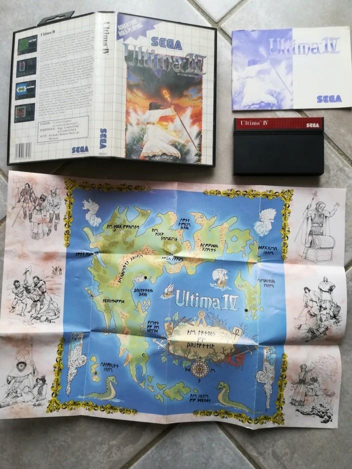 [Vds] Ultima 4 master system boite, cartouche, notice, carte. Img_2012
