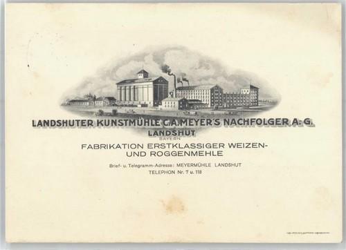 "065 - Plombs de scelle ""Landshuter Kunstmühle - Landshut"". Landsh11"