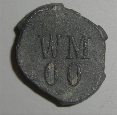"""070 - Plomb de scelle """"Berliner Victoria Mühle"""". Mberli25"""