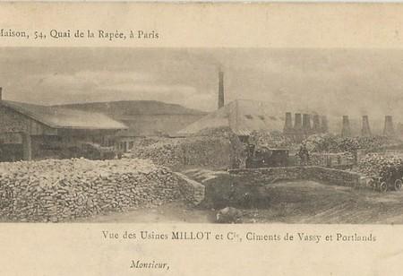 """Yonne - Plomb de scelle """"Millot & Compagnie - Vassy"""". Millot10"""