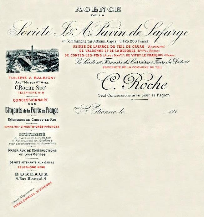 """Bouches du Rhone - Plomb de scelle """"societe Painvin de Lafarge - Valdonne"""". Voldon10"""