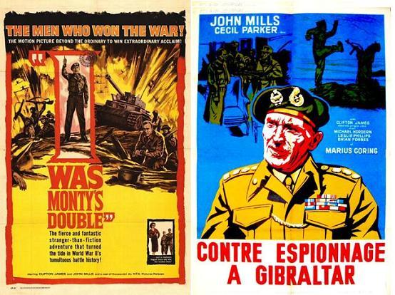 Contre-Espionnage à Gibraltar - I Was Monty's Double - John Guillermin (1958) Bozzet21