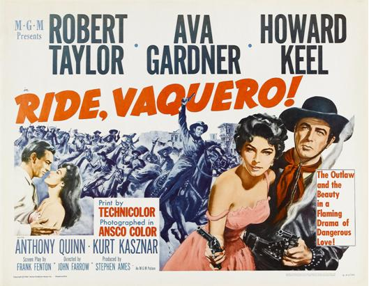 Vaquero - Ride, Vaquero! - 1953 - John Farrow Who-am15