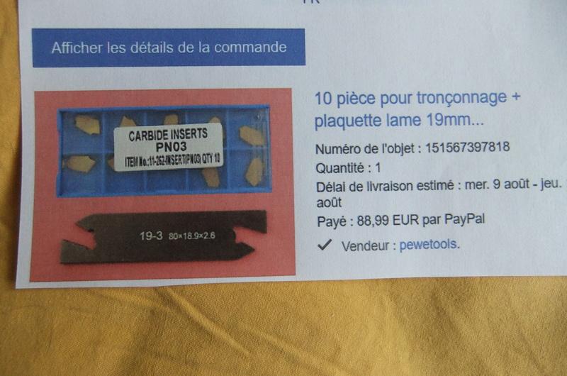 La mise en service de mon tour Acimex BL250D - Page 3 Dscf9510