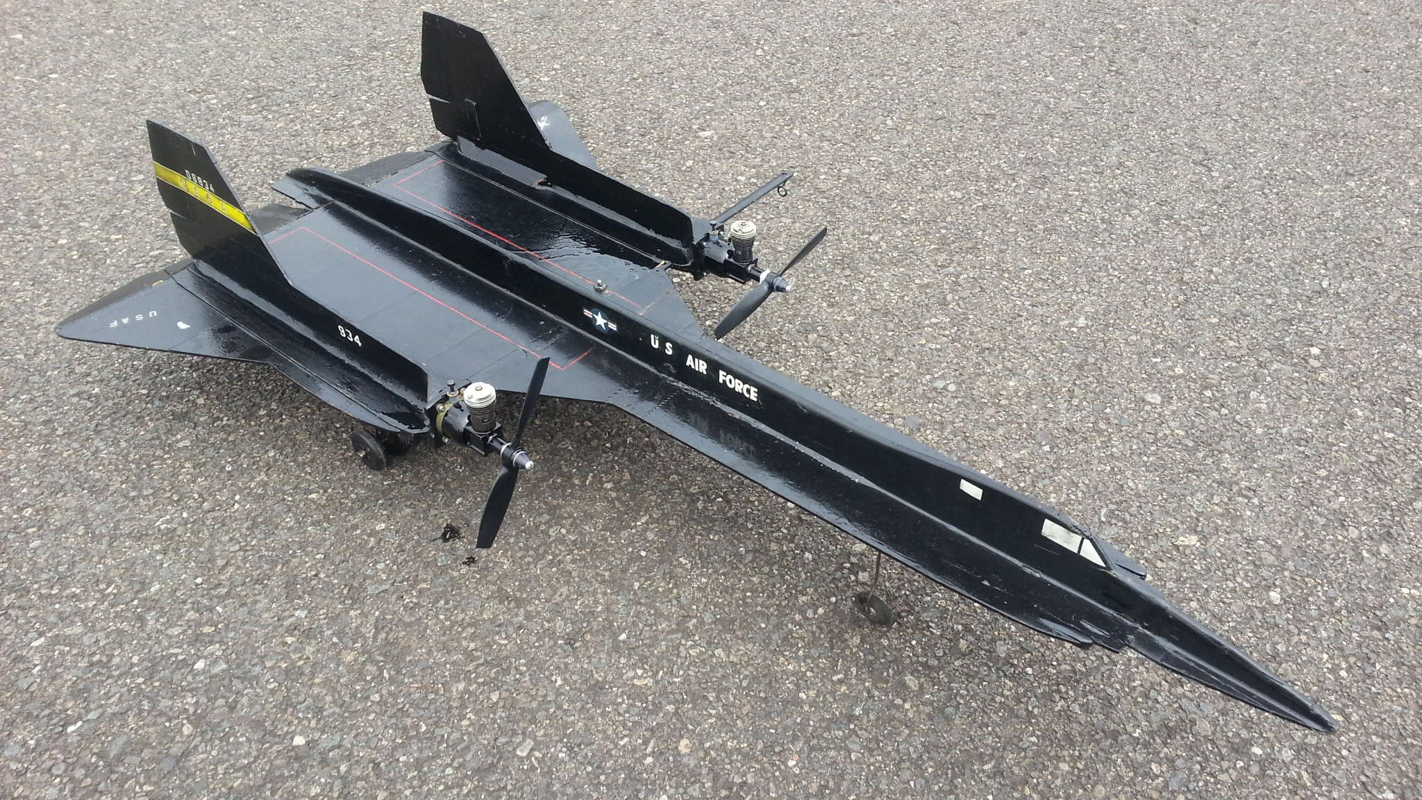SR-71 LA Speed Check Story 20180519