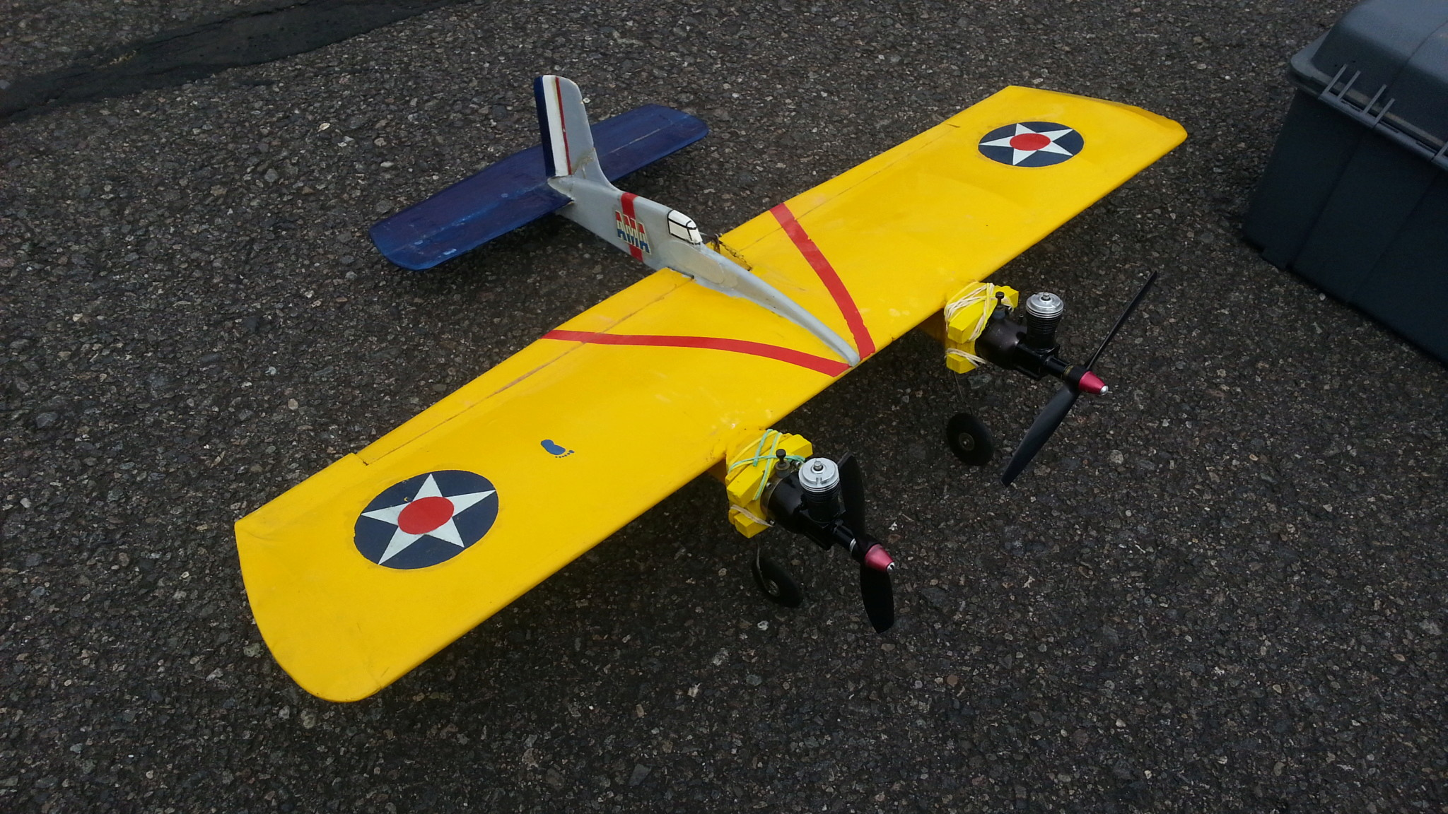 1/2A Scale competition models flown at the 2018 NW Regional Championships 20180535