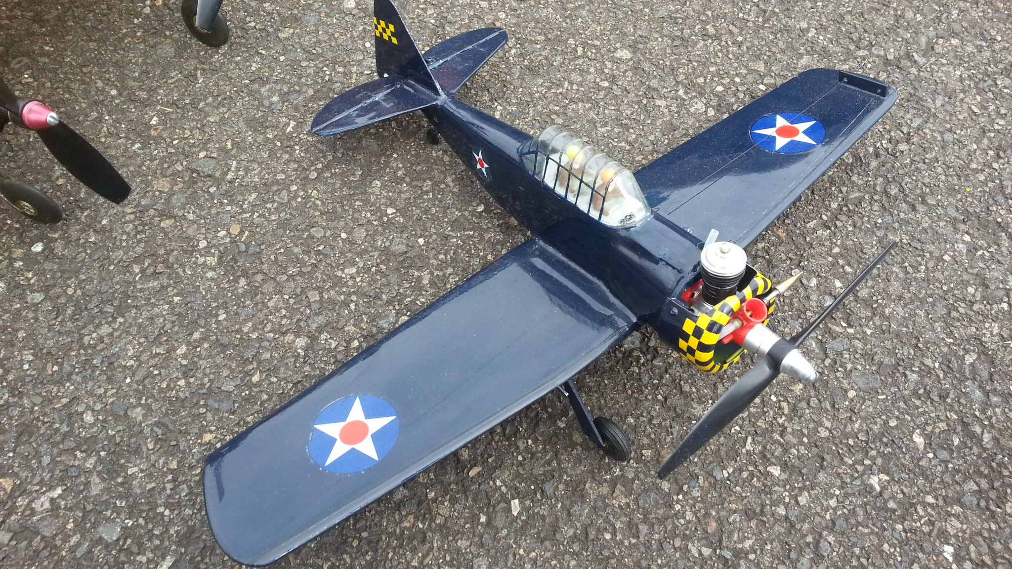 1/2A Scale competition models flown at the 2018 NW Regional Championships 20180537