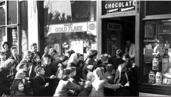 Post WW2 Britain & Europe - austerity, rationing & reconstruction Captur10