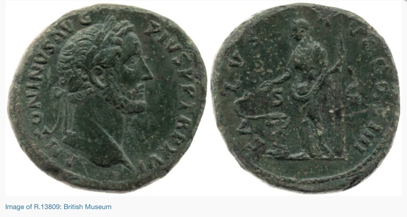 Etrange sesterce d'Antonin le Pieux 9c92d210
