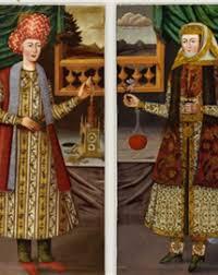 Monnaie sur une peinture persane? Help Couple10