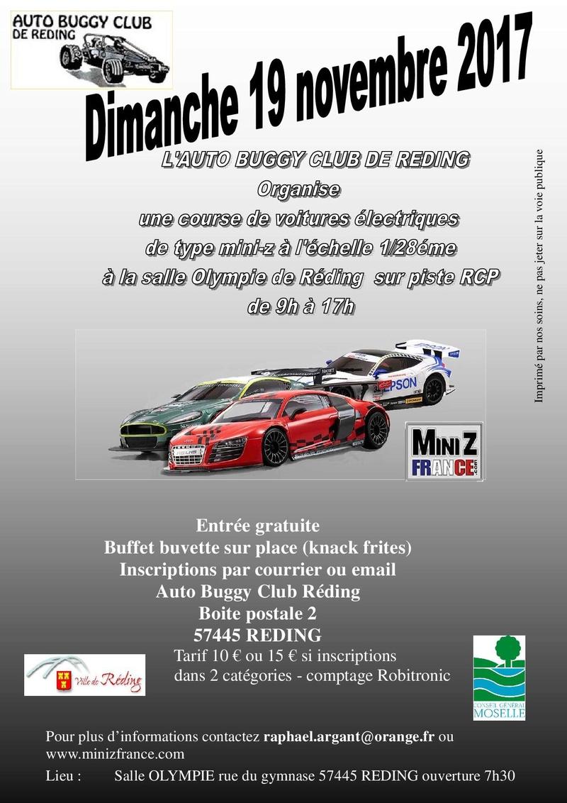1ère manche du Championnat Alsace-lorraine à Réding le 19 novembre 2017 Affich10