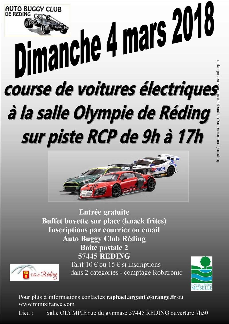 5ère manche du Championnat Alsace-lorraine à Réding le 4 mars 2018 Affich11