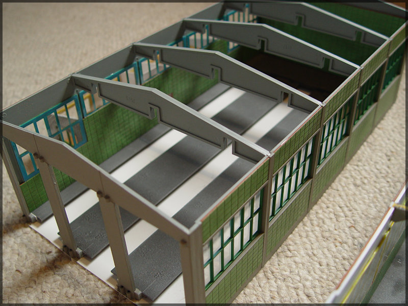 Bahnbauten - Auhagen / Pola / Kibri / Faller / Vollmer Dsc04129