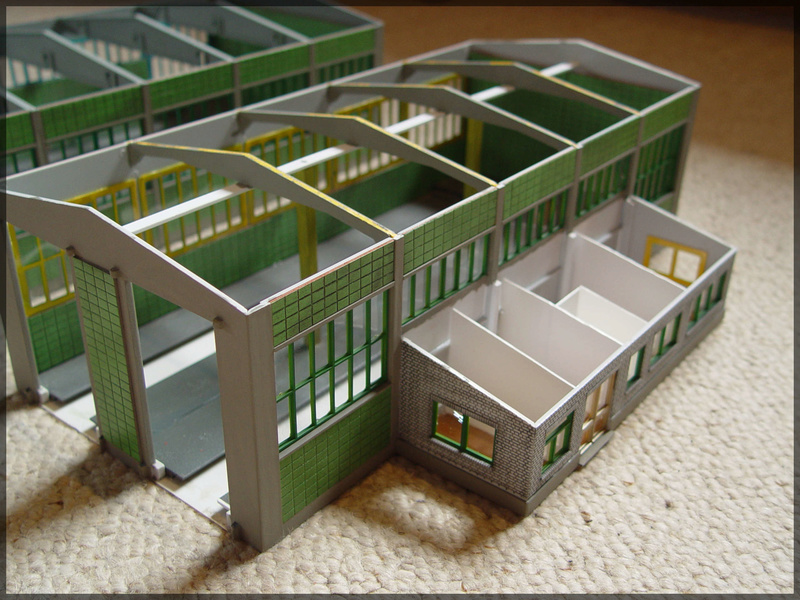 Bahnbauten - Auhagen / Pola / Kibri / Faller / Vollmer Dsc04130