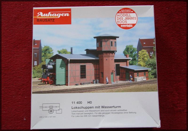 Bahnbauten - Auhagen / Pola / Kibri / Faller / Vollmer Dsc04132
