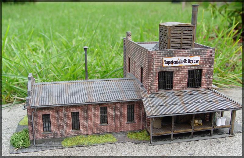 Bahnbauten - Auhagen / Pola / Kibri / Faller / Vollmer Dsc04237