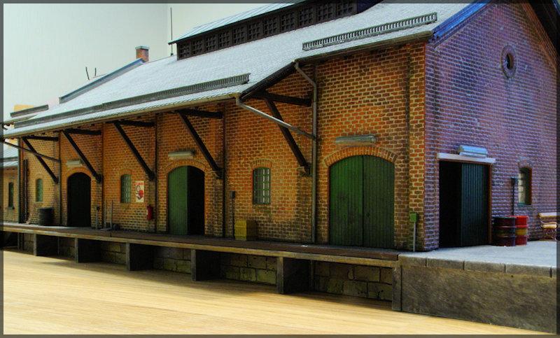 Bahnbauten - Auhagen / Pola / Kibri / Faller / Vollmer Dsc04320