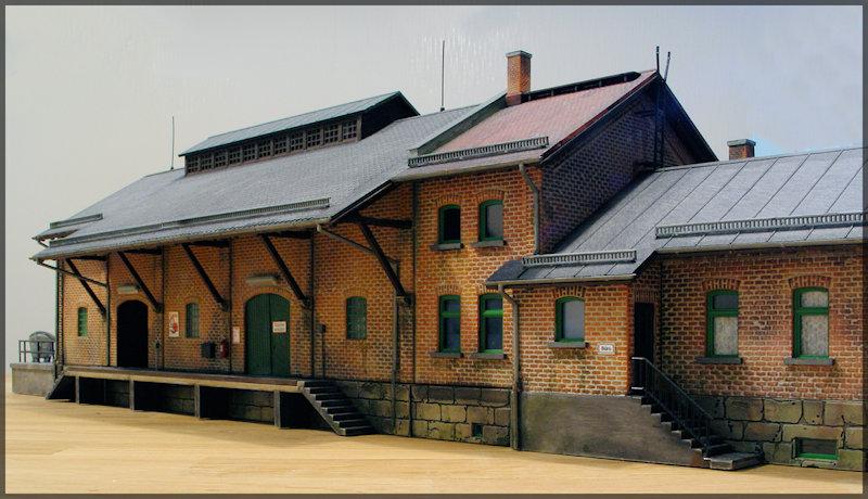 Bahnbauten - Auhagen / Pola / Kibri / Faller / Vollmer Dsc04321