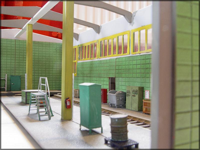 Bahnbauten - Auhagen / Pola / Kibri / Faller / Vollmer Dsc04415