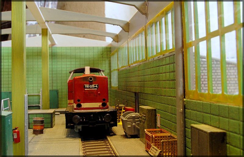 Bahnbauten - Auhagen / Pola / Kibri / Faller / Vollmer Dsc04416