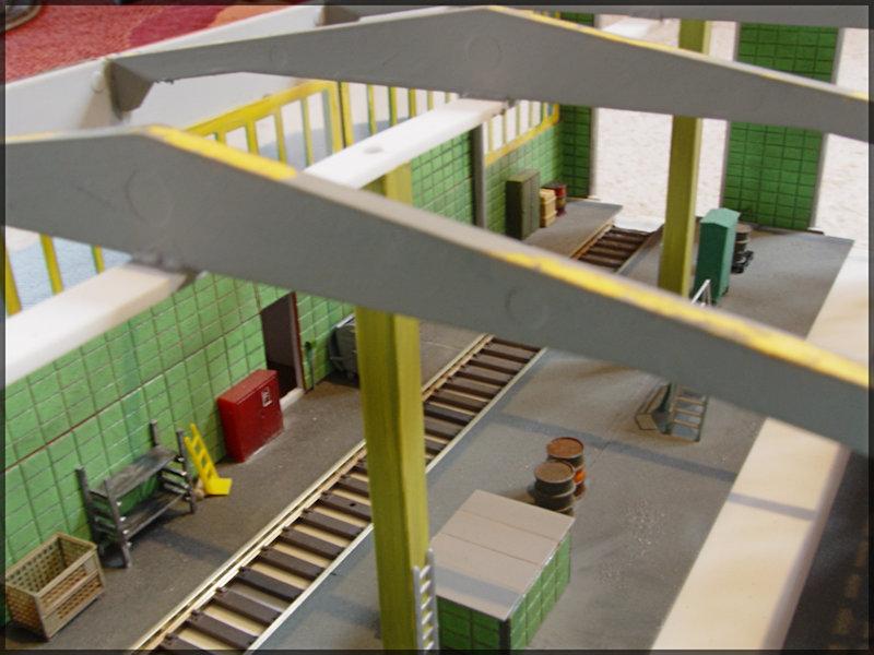 Bahnbauten - Auhagen / Pola / Kibri / Faller / Vollmer Dsc04417