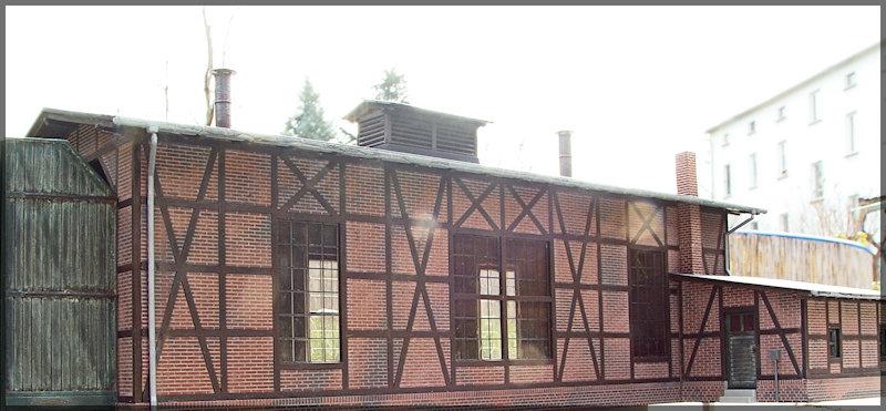 Bahnbauten - Auhagen / Pola / Kibri / Faller / Vollmer Dsc04420