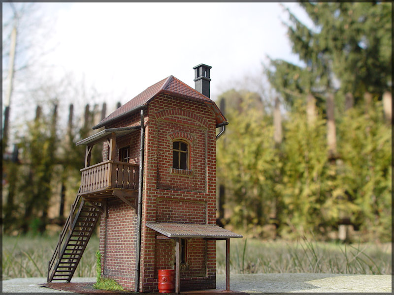 Bahnbauten - Auhagen / Pola / Kibri / Faller / Vollmer Dsc04520