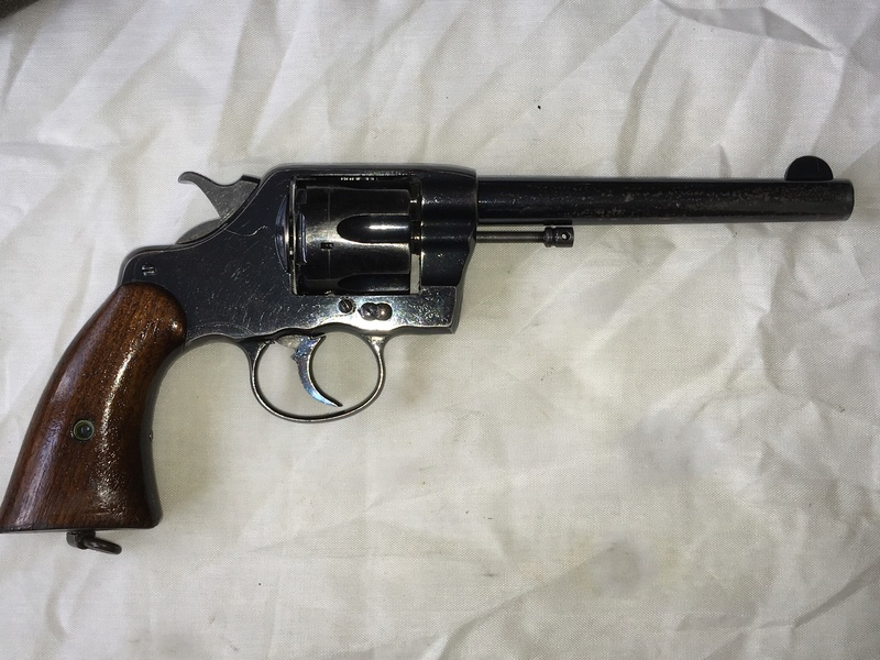 Colt New Army Revolver, Contract Model of 1894, modifié 1901 Img_6610
