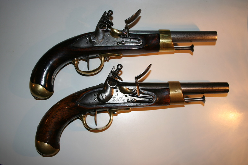 Transformation du pistolet AN IX en AN XIII Pistol10