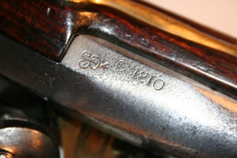Transformation du pistolet AN IX en AN XIII Pistol12