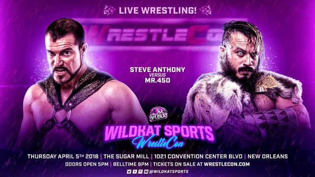 WrestleCon 2018 du 5 au 8/04/2018 29133811