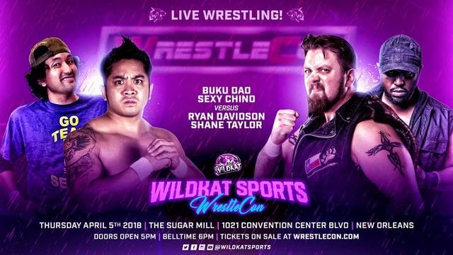 WrestleCon 2018 du 5 au 8/04/2018 29136711