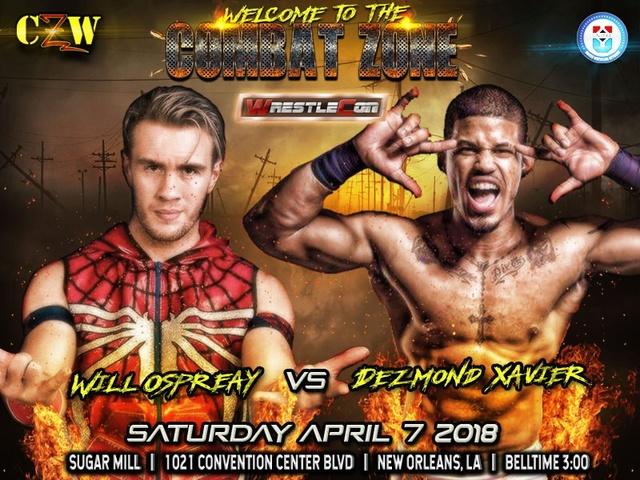 WrestleCon 2018 du 5 au 8/04/2018 Osprea10