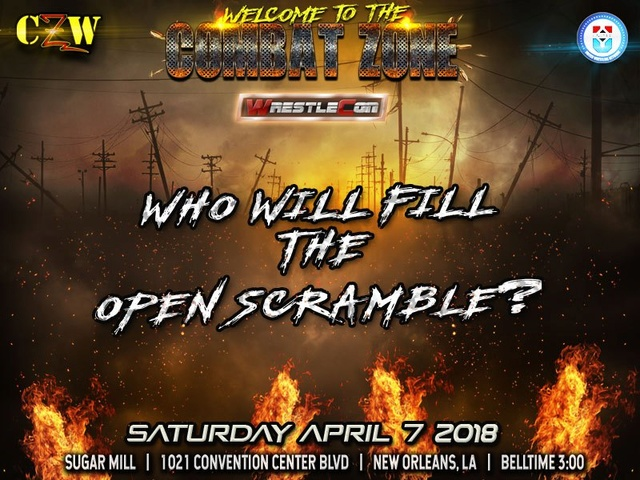 WrestleCon 2018 du 5 au 8/04/2018 Scramb10