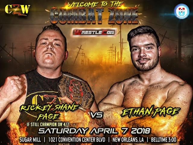 WrestleCon 2018 du 5 au 8/04/2018 Title-10