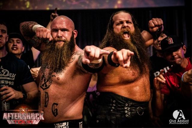 [Contrat] Une tag team de la ROH vers la WWE. En compagnie d'une top star ? Warmac10