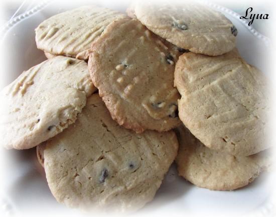 Biscuits au beurre d'arachide et pépites de chocolat Biscui11