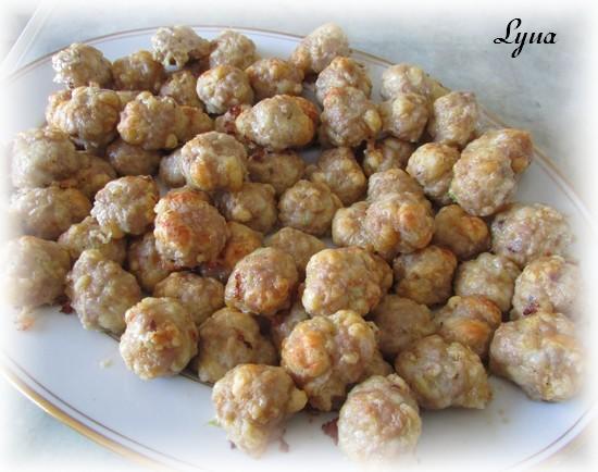 Bouchées de saucisses, cheddar et pâte à croissant Bouchy12