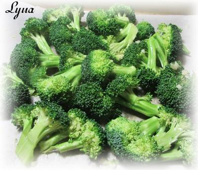 Fleurettes de brocoli rôties au four Brocol10