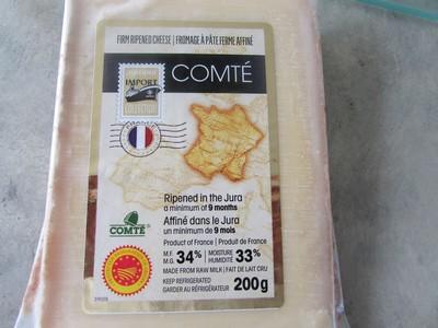Gratin de pommes de terre et poireaux au fromage Comté Comty10
