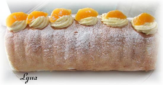 Gâteau roulé, garniture à la crème de clémentines Cryme_11