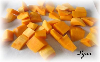 Cubes de courge butternut rôtis au four Cubes_10