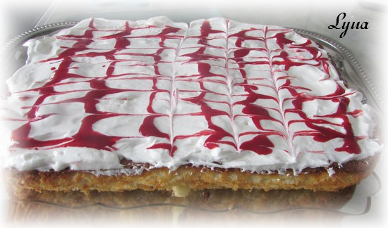 Gâteau des anges à l'ananas de weight watcher's Gateau11