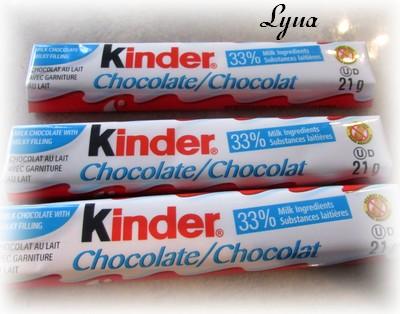 Cupcakes au chocolat, glaçage au chocolat kinder Kinder10