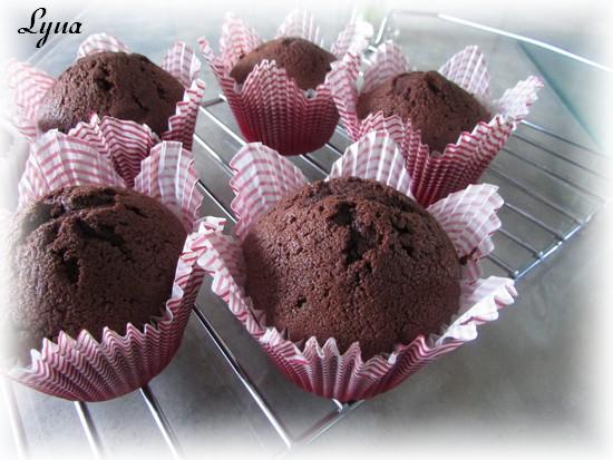 Cupcakes au chocolat, glaçage au chocolat kinder Kinder12